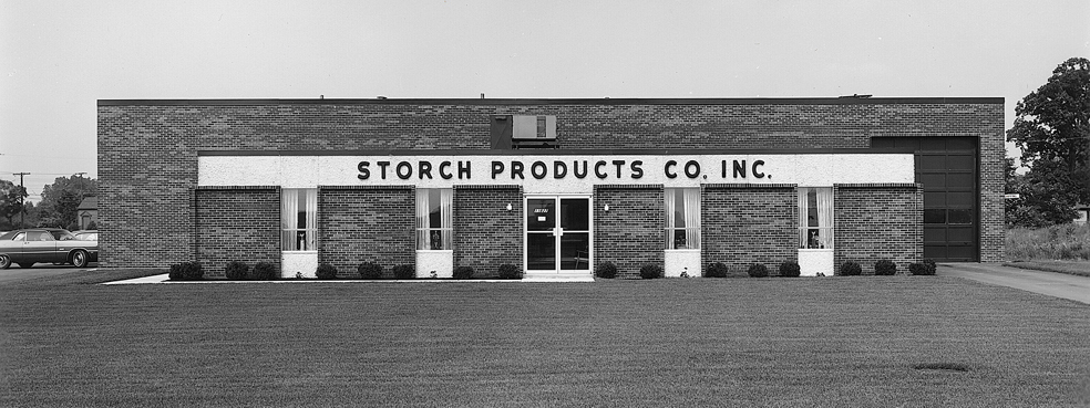 Storch Building - Black and White old photo